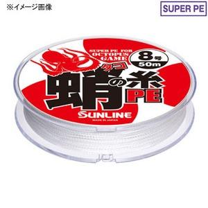 サンライン(SUNLINE) 蛸の糸PE 30m 12号 ホワイト