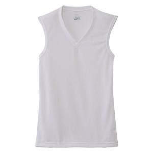 ミズノ(MIZUNO) C2JA6102 DVエブリノースリーブVネック Men's C2JA6102 メンズ速乾性ノースリーブシャツ