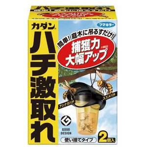 フマキラー ハチ激取れ2個パック S-0181