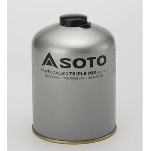 SOTOパワーガス500トリプルミックス