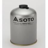 SOTO パワーガス500トリプルミックス SOD-750T キャンプ用ガスカートリッジ