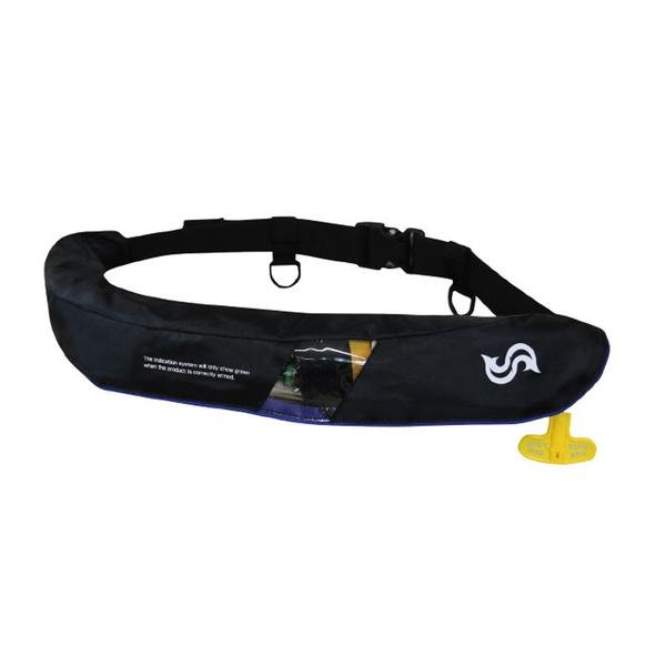 Takashina(高階救命器具) 国土交通省承認 腰巻式ライフジャケット 桜マーク タイプA 遊漁船(釣り船)対応 BSJ-5520RS インフレータブル(自動膨張)