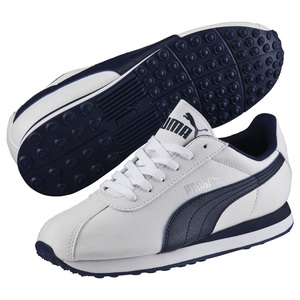 PUMA(プーマ) 360914 チューリン BG Women's 24.5cm 02(WHITE-PEACOAT)