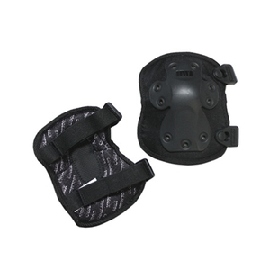 HWI TACTICAL GEAR 次世代(十字型)エルボーパッド ブラック NGE100