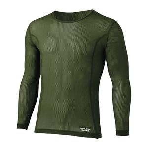 ファイントラック(finetrack) スキンメッシュロングスリーブ Men's FUM0411 メンズ速乾性長袖Tシャツ