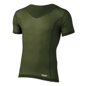 ファイントラック(finetrack) スキンメッシュVネックT Men's FUM0417 メンズ速乾性半袖Tシャツ