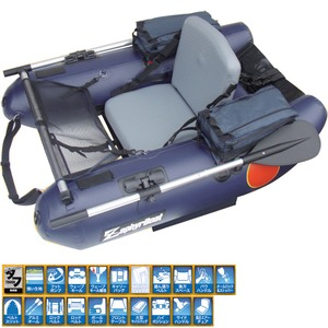 ZephyrBoat(ゼファーボート) ZephyrBoat(ゼファーボート)ZF-145H-T ダークネイビー ZF-021-DN H型タイプ
