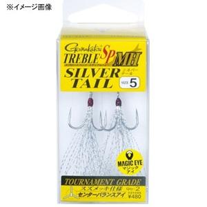 がまかつ(Gamakatsu)トレブル SP MH(ミディアムヘビー) SILVER TAIL