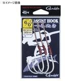 がまかつ(Gamakatsu) アシストフック 貫(つらぬき) 42204 ジグ用アシストフック