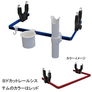 bmojapan(ビーエムオージャパン) ドカット レールシステム(ベーシックセット) BM-DR4500-R-SET-01 ロッドポスト