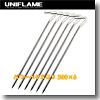 ユニフレーム(UNIFLAME) パワーペグSUS 300×6【お得な6点セット】