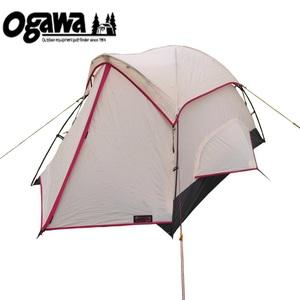 【送料無料】小川キャンパル(OGAWA CAMPAL) ピコラ 2人用 ツーリング向けテント 1-2人用 クリームxレッド 2603