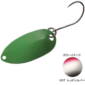 シマノ(SHIMANO) TR-018K カーディフ ロールスイマー 1.8g 60T レッドシルバー 43649
