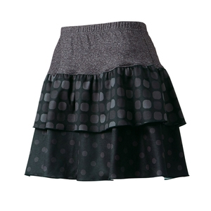 【送料無料】パールイズミ(PEARL iZUMi) ペチコートスカート M ブラック W757-1-M