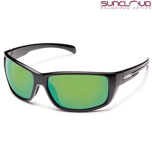 【送料無料】SUNCLOUD(サンクラウド) MILESTONE BLACK GREEN MIRROR 218100841