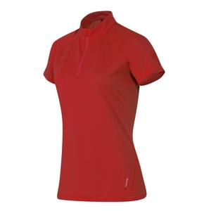 【送料無料】MAMMUT(マムート) Illiniza Light Zip T-Shirt AF Women's S 3038(lava) 1041-07930