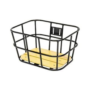 GIZA PRODUCTS(ギザプロダクツ) AL-N04 ウッド ボトム バスケット BKT09300