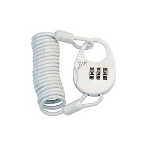 GIZA PRODUCTS(ギザプロダクツ) PL626 コンビネーションロック WHTxWHTケーブル LKW24301