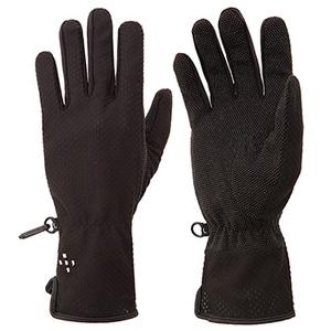 アクシーズクイン(AXESQUIN) W's UV Mesh Glove Long M ブラック AG6705