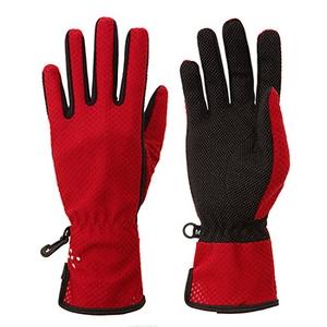 アクシーズクイン(AXESQUIN) W's UV Mesh Glove Long AG6705 インナー・フリースグローブ(アウトドア)