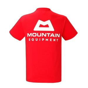 マウンテンイクイップメント(Mountain Equipment) ME LOGO TEE Men's M レッド 421797