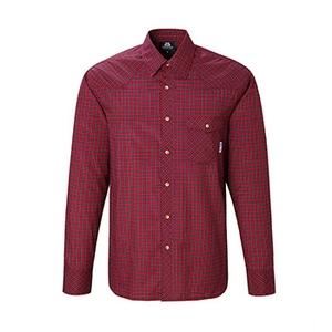 【送料無料】マウンテンイクイップメント(Mountain Equipment) LS Tartan Shirt Men's L レッド 421817