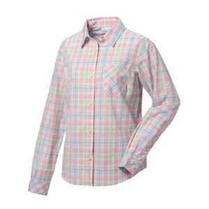 【送料無料】Columbia(コロンビア) CLEETWOOD COVE WOMEN's LONG SLEEVE SHIRT L 818(SORBET) PL7877