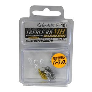 がまかつ(Gamakatsu) BOX トレブル RB-MH バーブレス 特注 トリプルフック