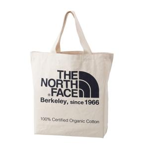 THE NORTH FACE(ザ・ノースフェイス) TNF ORGANIC COTTON TOTE(TNF オーガニック コットン トート) 20L EB(ナチュラルxエステートブルー) NM81616