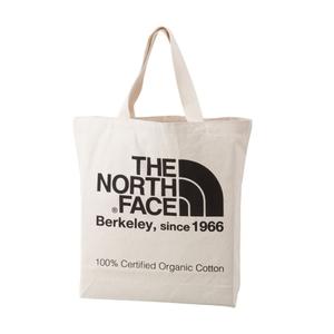 THE NORTH FACE(ザ・ノースフェイス) TNF ORGANIC COTTON TOTE(TNF オーガニック コットン トート) 20L NK(ナチュラルxブラック) NM81616