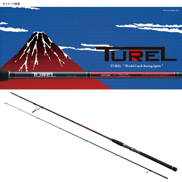 メジャークラフト Turel(トゥレル) TUS-792ML 2ピーススピニング