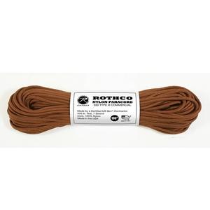 ROTHCO(ロスコ) ナイロンパラコード 30m(100ft) 30m CHOCOLATE BRN 02-03-para-0003