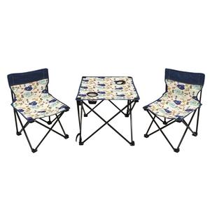 あまの(AMANO) テーブル&チェアーセット トラベラー WLL0111