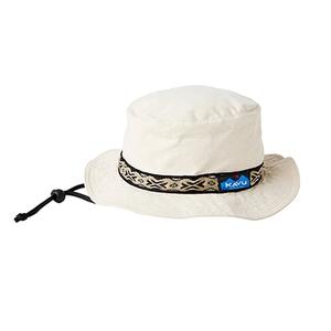 KAVU(カブー) 【21春夏】Strap Bucket Hat(ストラップ バケット ハット) L Natural 11863452017007