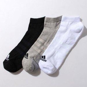 【送料無料】adidas(アディダス) 3S パフォーマンス 3Pアンクルソックス 24-26 AA2281 KAW66