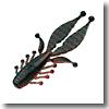 キッカーバグ5.5インチ#08 ブラック×レッドクロー