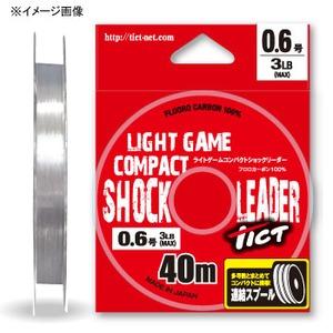 TICT(ティクト) ライトゲーム コンパクトショックリーダー 40m ライトゲーム用フロロライン