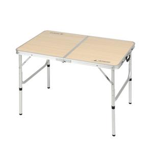 キャプテンスタッグ(CAPTAIN STAG) ジャストサイズ ラウンジチェアで食事がしやすいテーブル S UC-517 キャンプテーブル