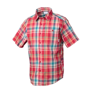 【送料無料】Columbia(コロンビア) LITTLE THORNAPPLE STREAM SHORT SLEEVE SHIRT Men's S 691(BRIGHT RED) PM7966