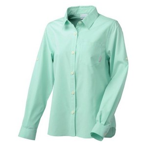 Columbia(コロンビア) WATERVAL BOVEN WOMEN'S R FIT LONG SLEEVE SHIRT PL7954 レディース速乾性長袖シャツ