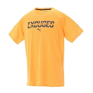 PUMA(プーマ) DRI-RELEASE グラフィック SS TEE Men's L 05(ORANGE POP-BL) 514429
