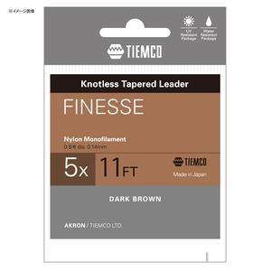ティムコ(TIEMCO) フィネスリーダー 11FT 6X ダークブラウン 175001411060