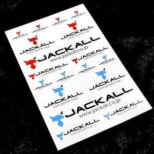 ジャッカル(JACKALL)アソートステッカー
