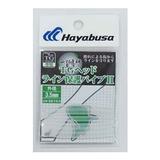 ハヤブサ(Hayabusa) 無双真鯛フリースライド カスタムTGヘッドライン保護パイプII SE152 タイラバ