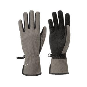 アクシーズクイン(AXESQUIN) Women's UV Mesh Glove Long L G01(グレイ) AG6705