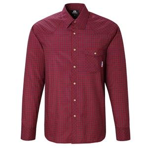 【送料無料】マウンテンイクイップメント(Mountain Equipment) LS Tartan Shirt Men's S R00(レッド) 421817