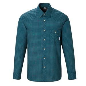 【送料無料】マウンテンイクイップメント(Mountain Equipment) LS Tartan Shirt Men's S T00(ティール) 421817
