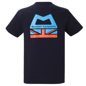 マウンテンイクイップメント ロゴTシャツ