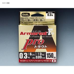 ARMORED(アーマード) F+ プロ トラウト 150m 0.4号/7lb オレンジ