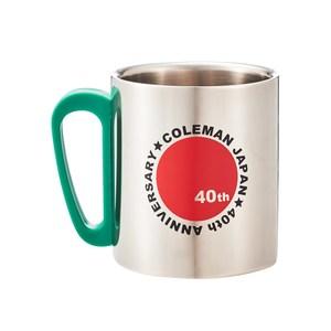 Coleman(コールマン) ダブルステンレスマグ 40thリミテッド ライムグリーン 2000029863